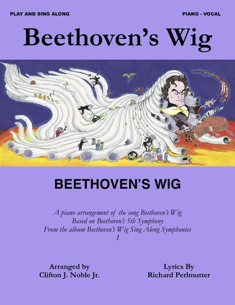 """cover of Individual sheet music for the song """"Beethoven's Wig"""""""