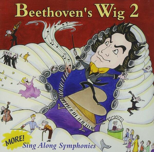 cover of Beethoven's Wig, Vol. 2: More Sing-Along Symphonies