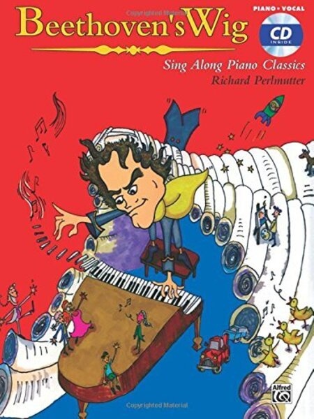 cover of Beethoven's Wig: Sing Along Piano Classics Songbook
