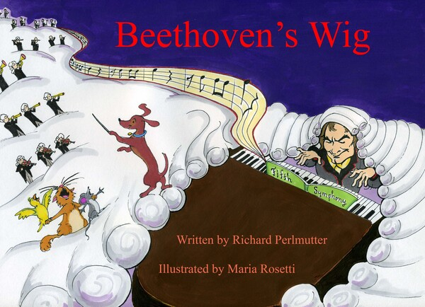 cover of Beethoven's Wig Book