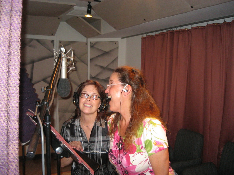 Susan and Elin Sing Out