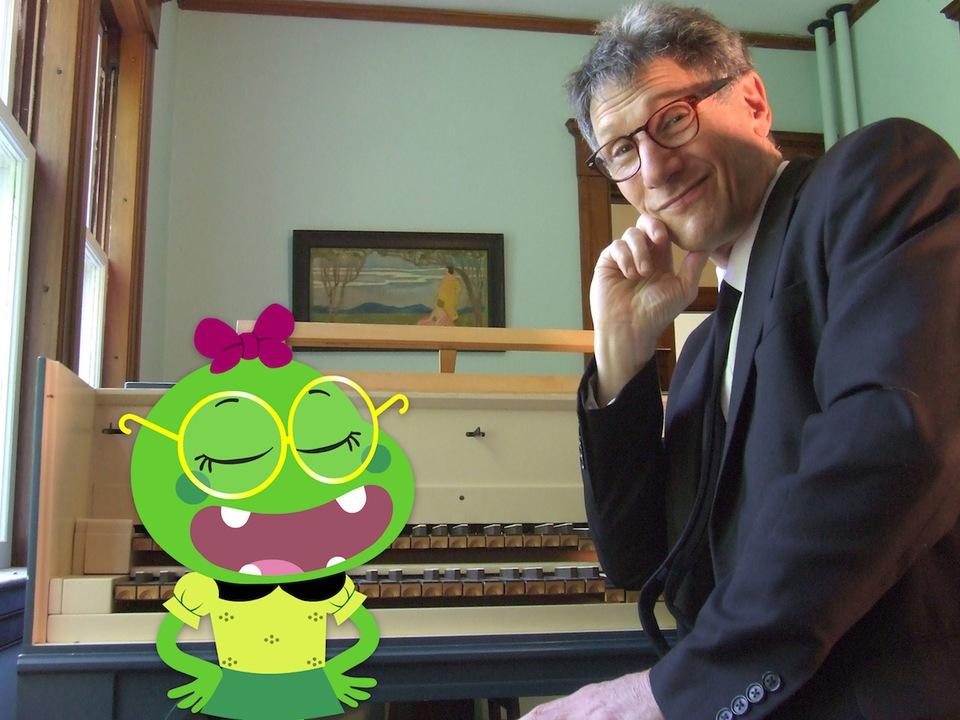 Richard and Froggy Diva